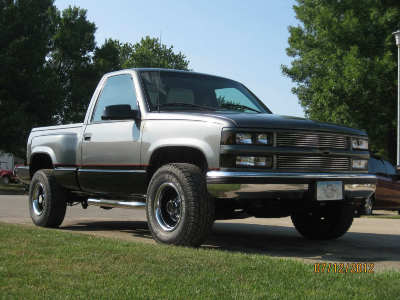 1998 Chevy 1500 Regular Cab Step Side Gmt400 The